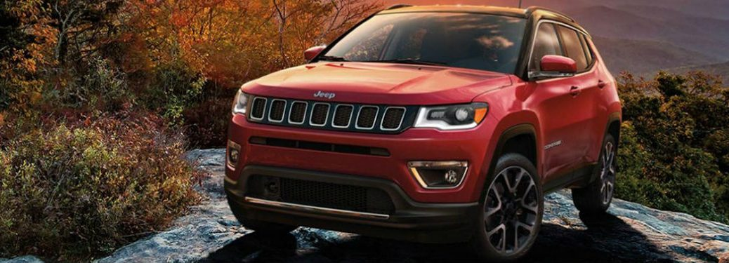 2020 Jeep Compass in red