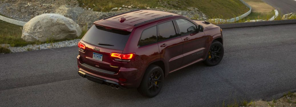 2021 Jeep Grand Cherokee in red
