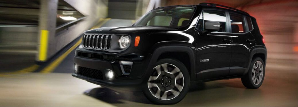 2020 Jeep Renegade in black