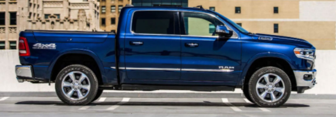 What does the 2021 Ram 1500 look like?