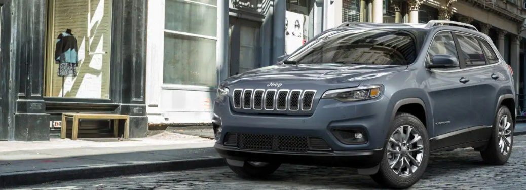 2021 Jeep Cherokee parked on a city street