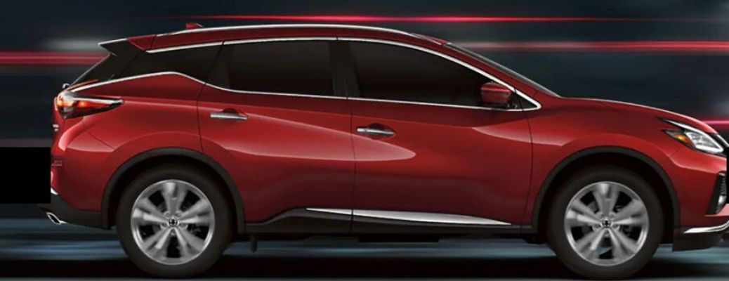 2020 Nissan Murano parked side view