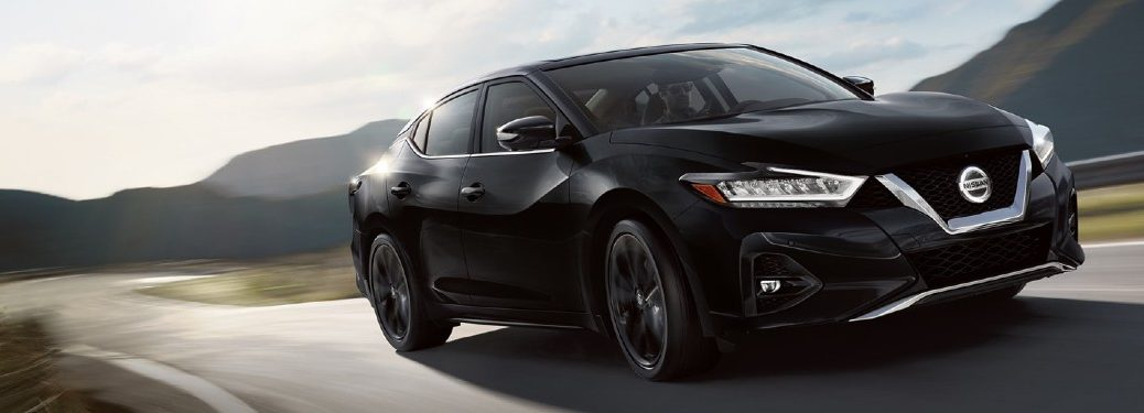2020 Nissan Maxima driving on a road