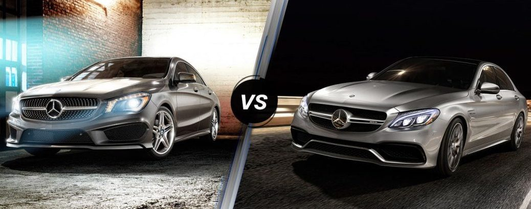 Mercedes-Benz CLA vs Mercedes-Benz C-class