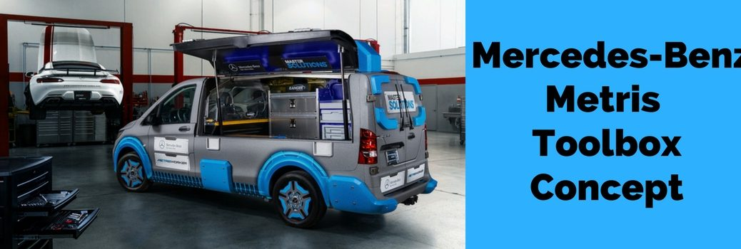 Mercedes-Benz Metris MasterSolutions Toolbox Concept Debuts at 2017 Chicago Auto Show