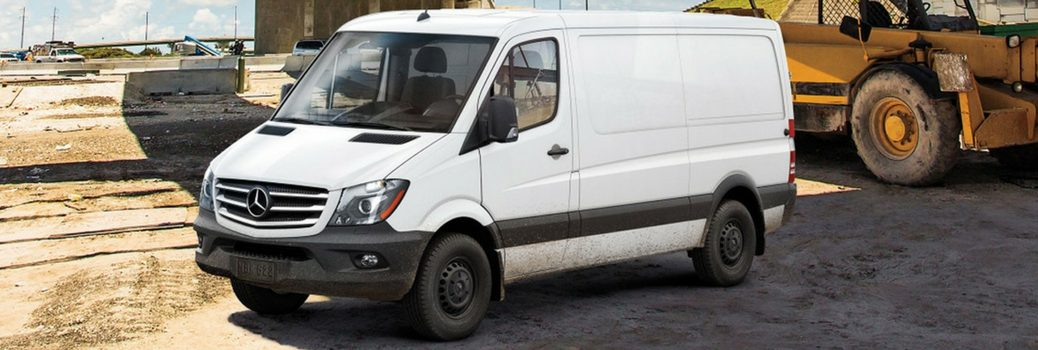 What are the Best Safety Features on the 2017 Mercedes-Benz Sprinter WORKER Cargo Van?