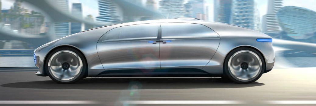 """What is the Mercedes-Benz F 015 """"Luxury in Motion"""" Research Vehicle?"""