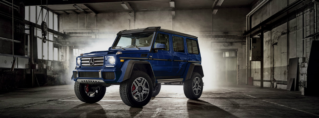 Available Technology Features on the 2018 Mercedes-Benz G-Class