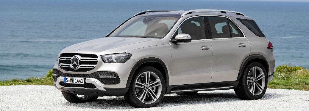 Driver side exterior view of a 2020 Mercedes-Benz GLE