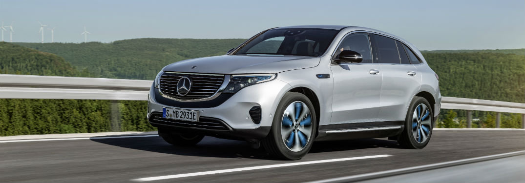 What is the 2020 Mercedes-Benz EQC Crossover SUV?