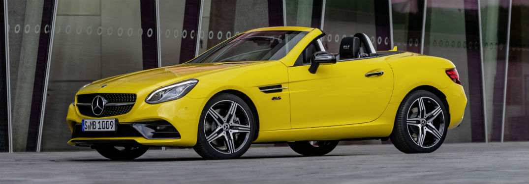 Is 2020 the Final Year for the Mercedes-Benz SLC Special Edition?