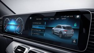 attention assist monitor in mercedes-benz gle