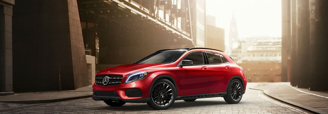 2020 Mercedes-Benz GLA Passenger and Cargo Space