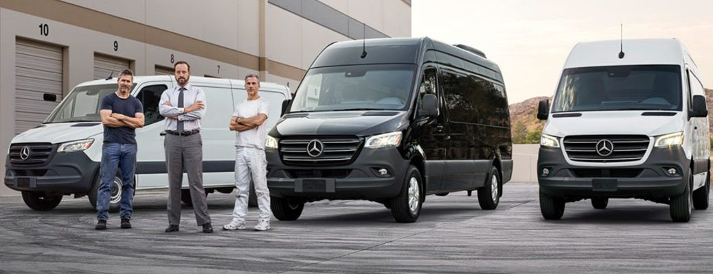 2019 Mercedes-Benz Sprinter Passenger Vans multiple with three people