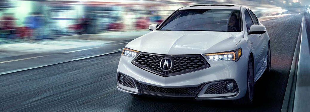2018 Acura TLX exterior front