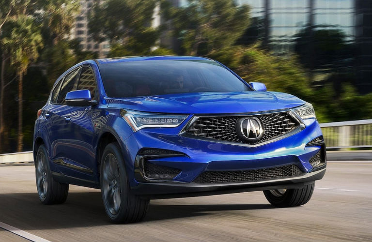 2020 Acura RDX in blue