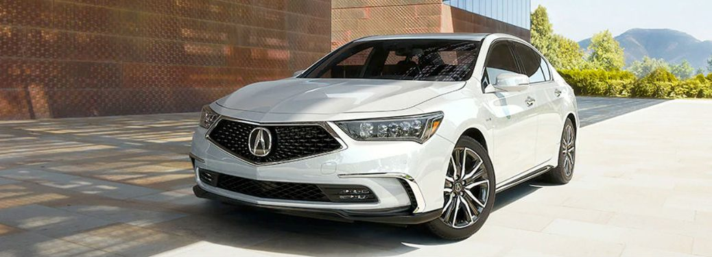 2020 Acura RLX in white