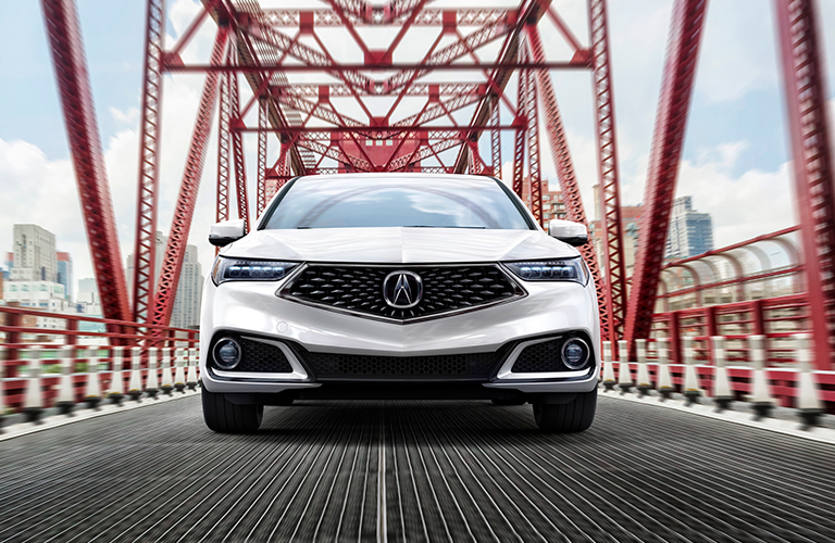 2020 Acura TLX in white