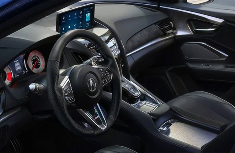 2021 Acura RDX front seating