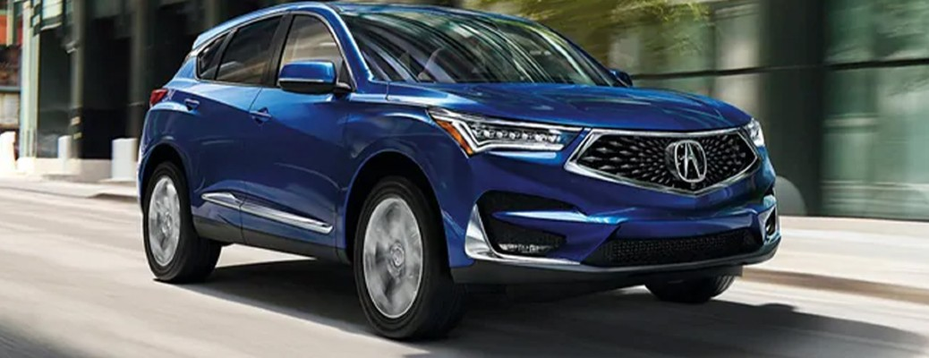 2021 Acura RDX on a road
