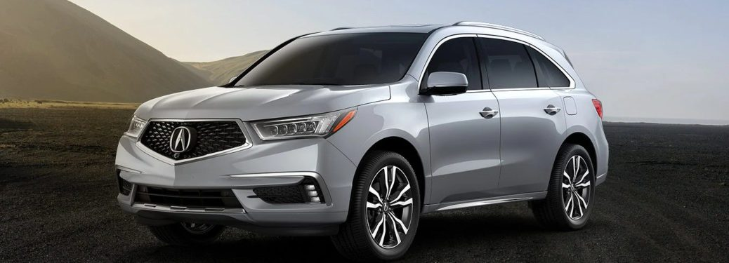 2020 Acura MDX parked off-road