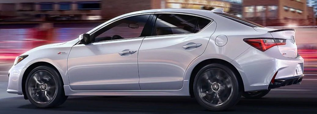 2021 Acura ILX from the side