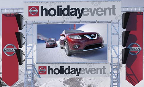 nissan holiday event palm
