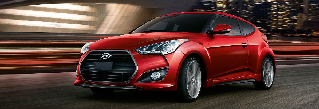 2017 Hyundai Veloster hatchback performance and specs
