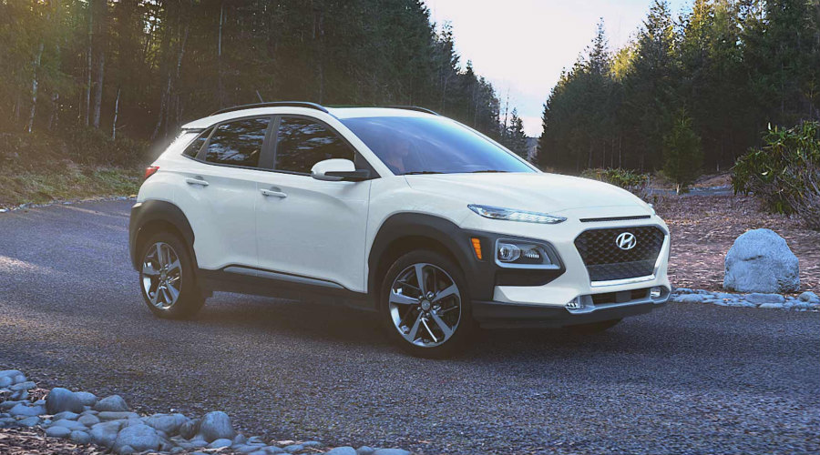 2018 Hyundai Kona in Chalk White