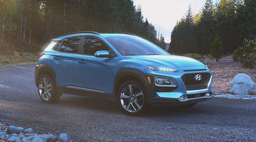 2018 Hyundai Kona in Surf Blue