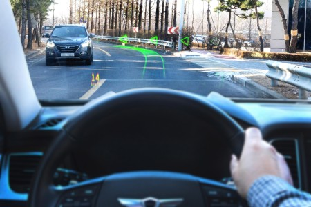 AR technology in new Hyundai vehicles