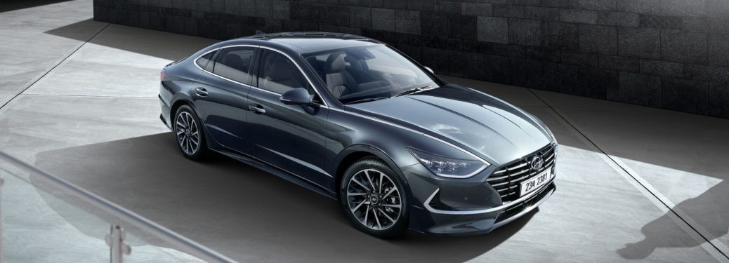 2020 Hyundai Sonata gray side view