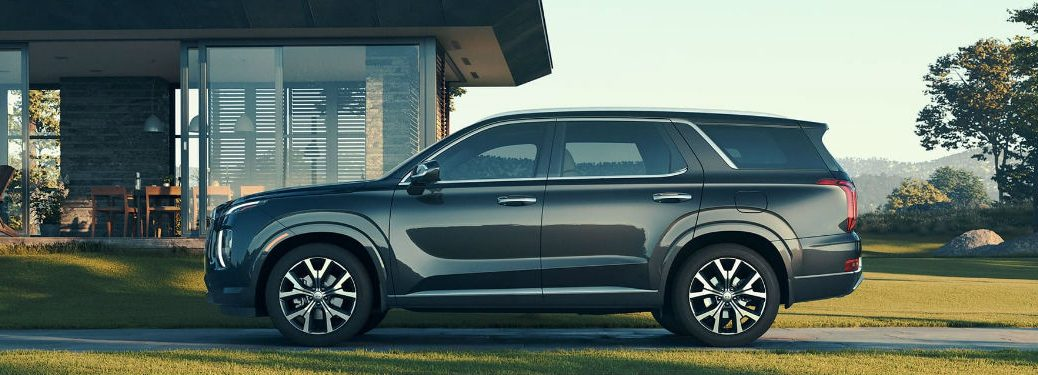 2020 Hyundai Palisade side profile