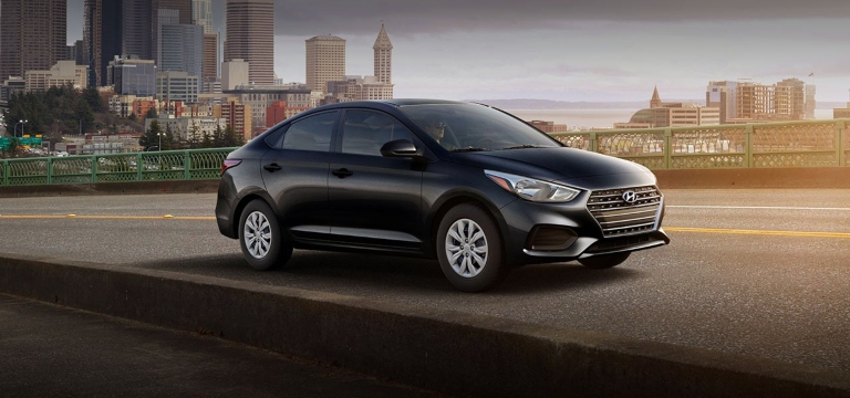 2020 Hyundai Accent Absolute Black