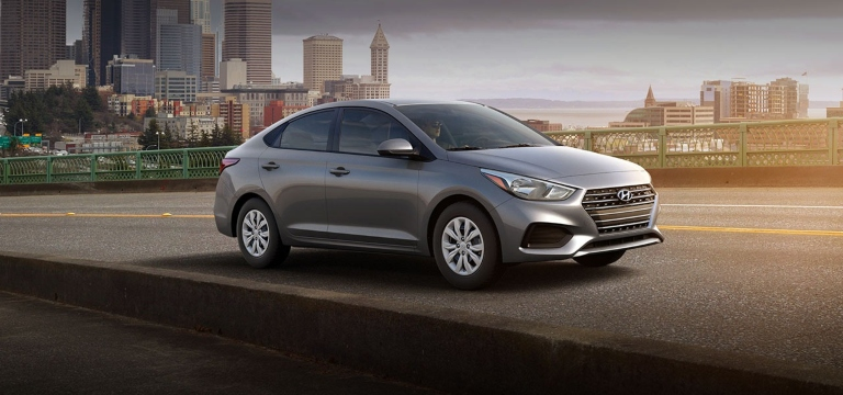 2020 Hyundai Accent Urban Gray