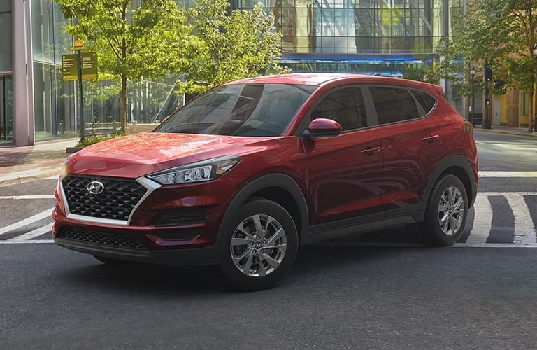 2020 Hyundai Tucson Gemstone Red