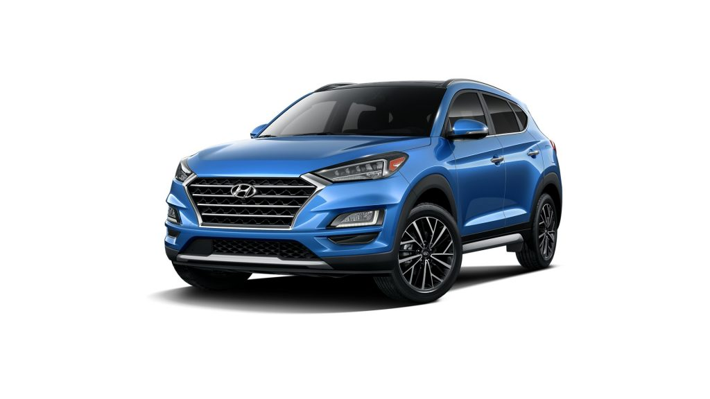 Which colors are available on the 2021 Hyundai Tucson ...