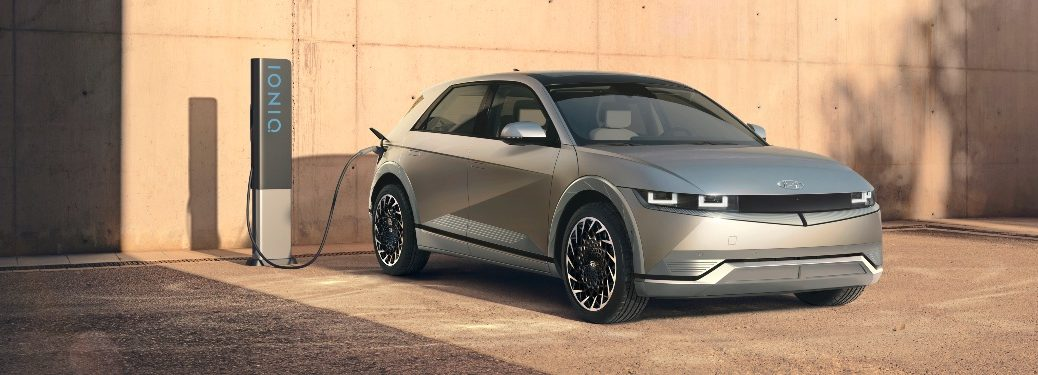 2022 IONIQ 5 parked by charger