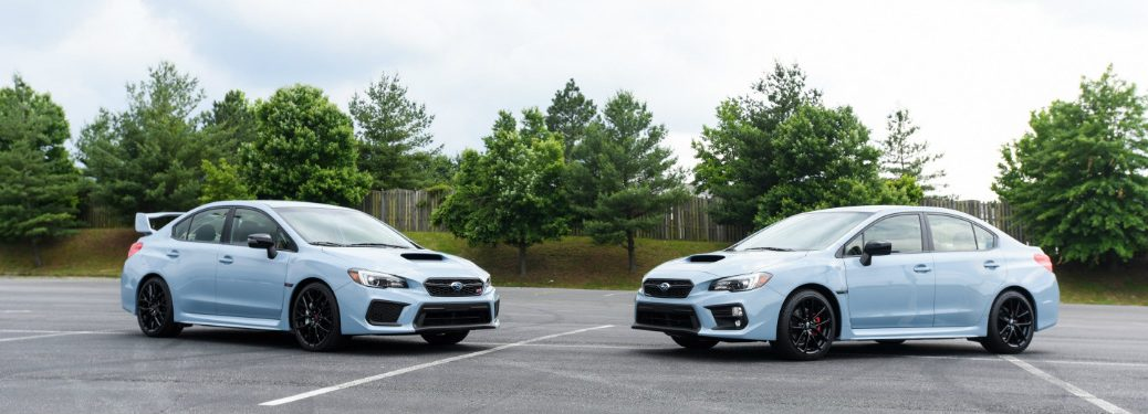 2019 Subaru WRX and WRX STI Series.Gray models