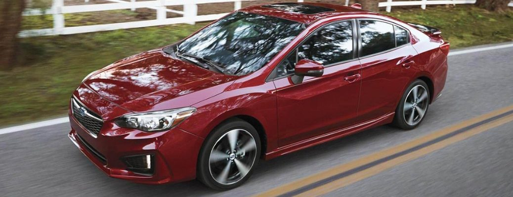 2019 Subaru Impreza Available Features