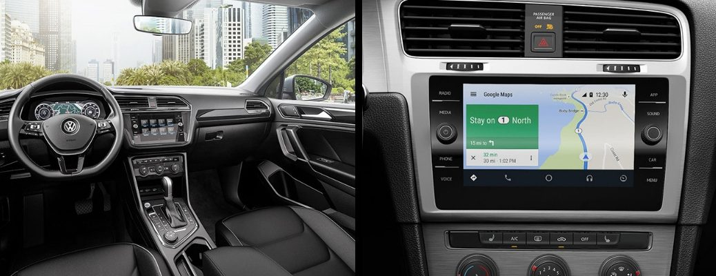 Touchscreen Interface Displays in 2019 VW Models