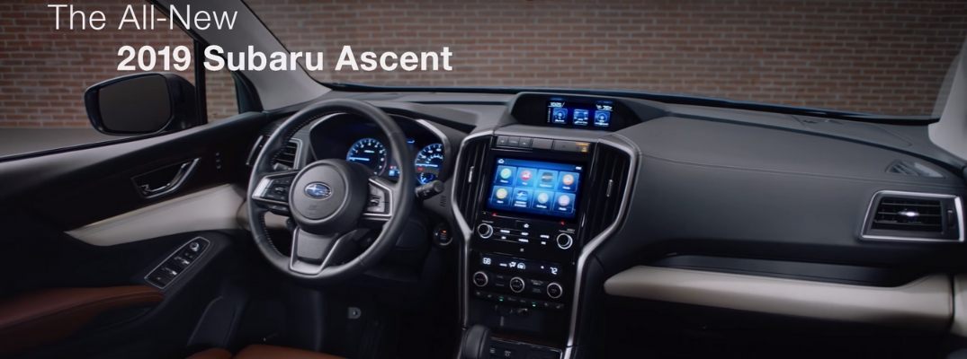 What are the 2019 Subaru Ascent Cargo Space Measurements?