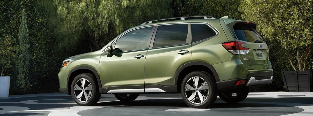 How Much Cargo Space is in the 2019 Subaru Forester?