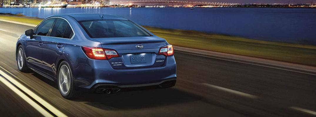What is the 2019 Subaru Legacy Trunk Volume?