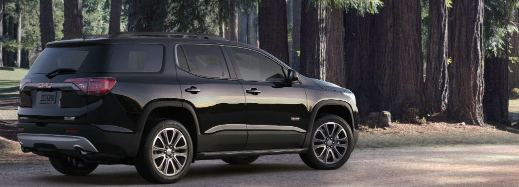 2019 GMC Acadia parked on a city street