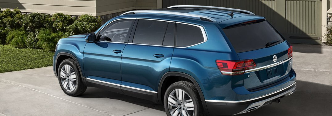 2019 Volkswagen Atlas Exterior Color Options