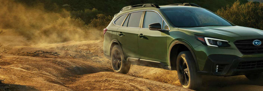 What is the 2020 Subaru Outback Storage Space?