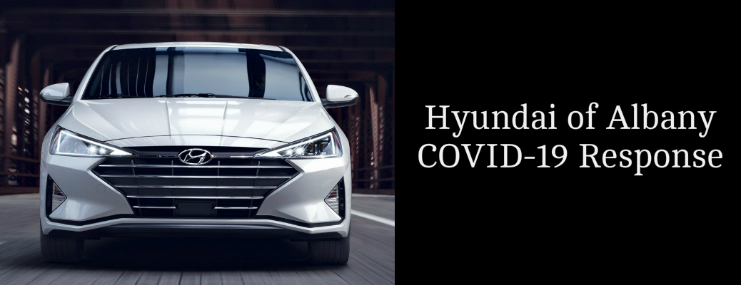 What is Hyundai of Albany doing to address COVID-19?