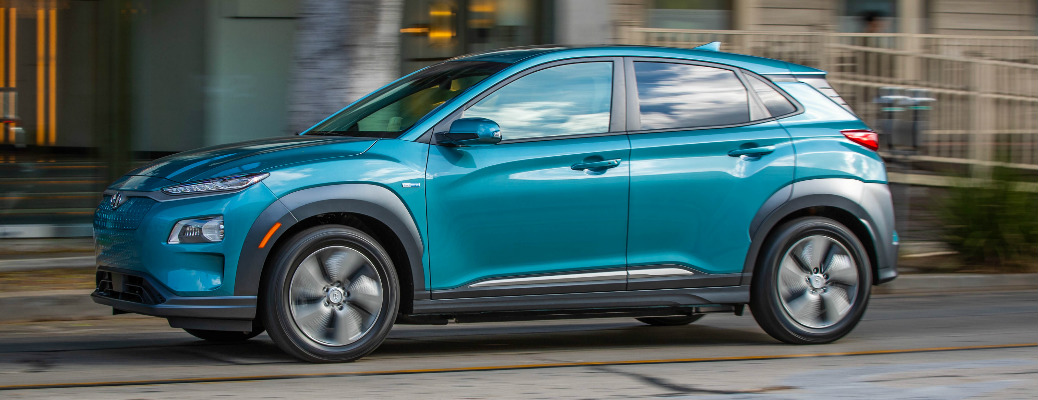 What is the electric range of the 2020 Hyundai Kona Electric?