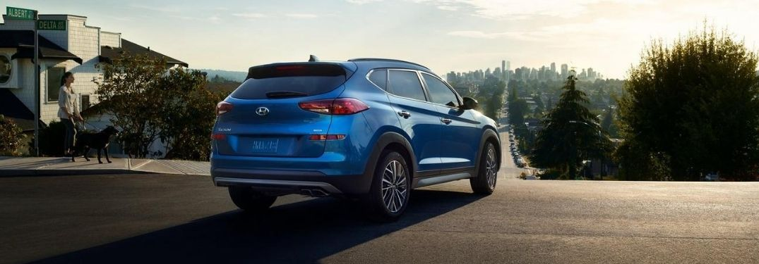 How much space is inside the 2021 Hyundai Tucson?